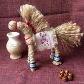 Славянская кукла оберег Солнечный конь