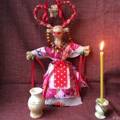 Славянская кукла оберег Коза