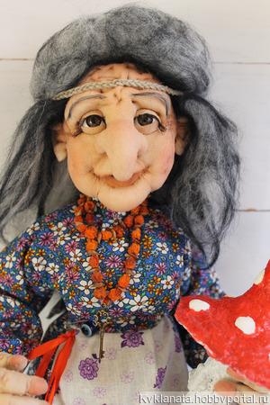 Бабушка Ягулечка ручной работы на заказ