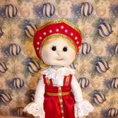Кукла в русском сарафане