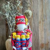 Народная кукла оберег для семьи Московка Плодородие Семья