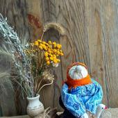 Народная кукла Бабка характерная