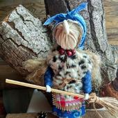 Кукла Баба Яга помощница в делах и финансах