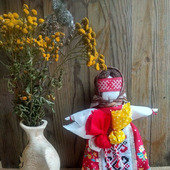 Кукла Метлушка хозяюшка - оберег