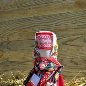 Кукла оберег Успешница народная кукла из ткани