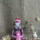 Народная кукла оберег Ведучка с девочкой оберег  для мамы для ребёнка