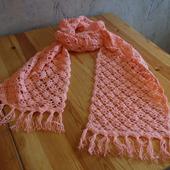 фото: Шарфы и шарфики — аксессуары (шаль ажурная)