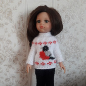 Комплект для куклы паола.