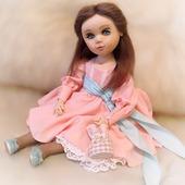 Коллекционная авторская текстильная кукла