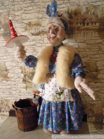 Баба Ежка Серафима, целительница в 7 поколении ручной работы на заказ