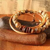Комплект браслетов: в этническом стиле «Сафари»