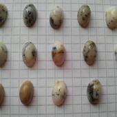 Кабошоны из мохового агата