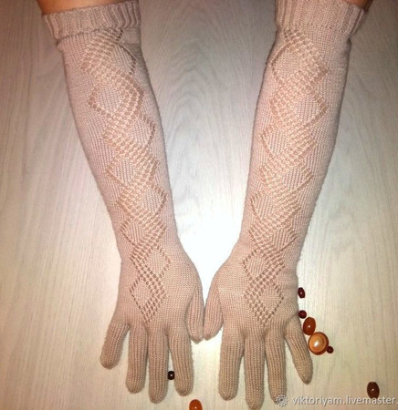 """Перчатки """"Нежность"""" ручной работы на заказ"""