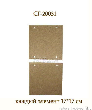 031 Основа для панно или... Заготовки для декупажа ручной работы на заказ