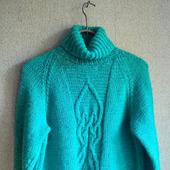 """Пуловер """"Мятная свежесть"""""""