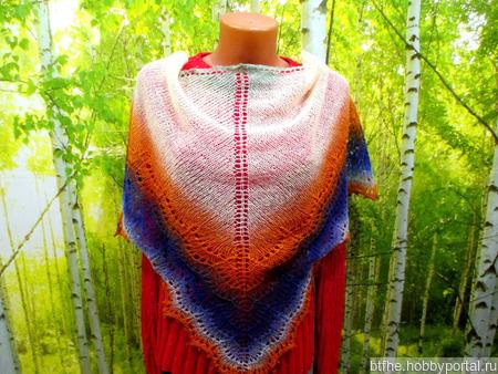 Шейный платок ручной работы на заказ