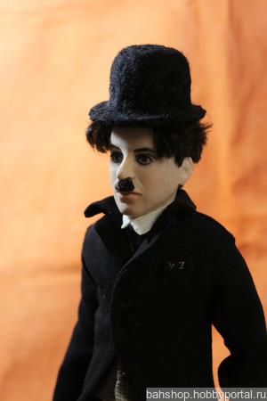 Интерьерная кукла Чарли ручной работы на заказ