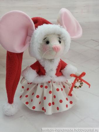 Мышка малышка ручной работы на заказ