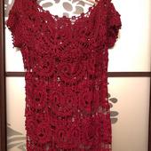 Платье вязаное нарядное от Ванессы Монторо