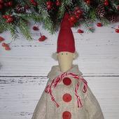 Рождественский гном  в стиле Тильда