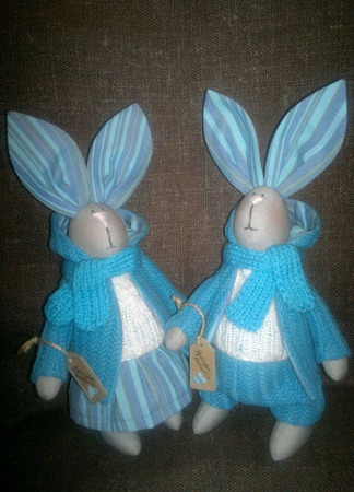 Кролик Тильда ручной работы на заказ