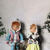 Ёлочные игрушки из ваты (набор)
