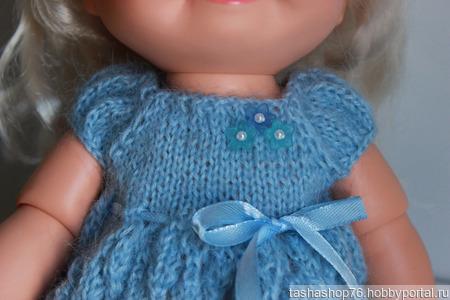 Платье из мохера для Бэби Фэйс ручной работы на заказ