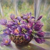 """Картина """"Запах весны"""""""