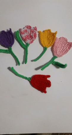 Тюльпаны ручной работы на заказ