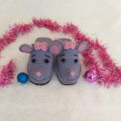 Тапочки-мышки, тапочки-мишки, тапочки-ёжики, тапочки-собачки