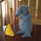 Крыс Иннокентий мягкая игрушка крючком