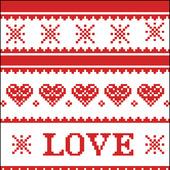 """Схема для вышивки или вязания """"LOVE"""""""