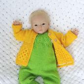 Полукомбинезон, кофточка малышу 2