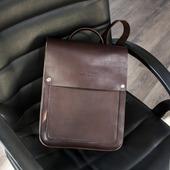 Рюкзак из натурально кожи