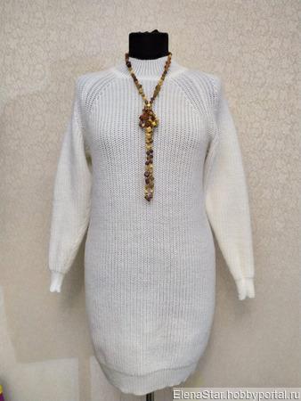 """Платье """"Жемчужинка"""" ручной работы на заказ"""