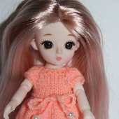 Платье для маленькой куколки