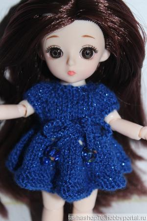 Платье для маленькой куколки ручной работы на заказ