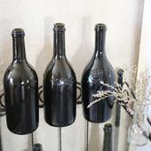 Бутылки пузатые темные