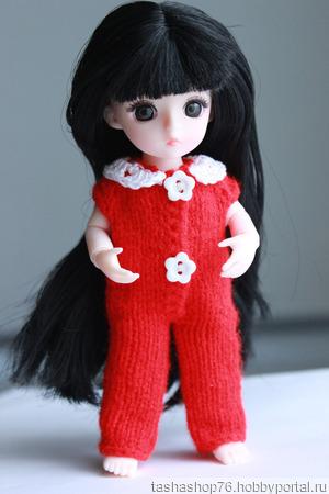 Комбинезончик для маленькой куколки ручной работы на заказ