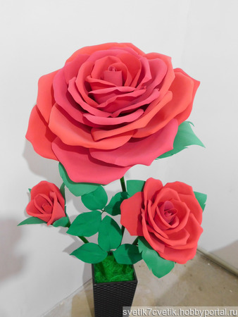 Ростовые цветы ручной работы на заказ