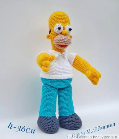Гомер Симпсон ручной работы на заказ