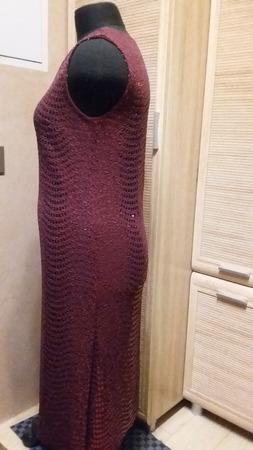 Платье с пайетками ручной работы на заказ
