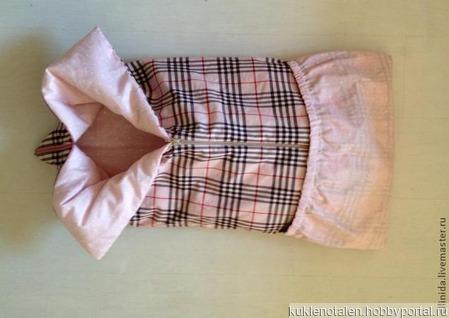 Одеяло-трансформер для кукол ручной работы на заказ