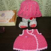 Платье новорожденной девочке