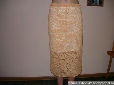 Ажурная женская юбка ручной работы на заказ
