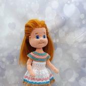 Куколка крючком