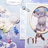 """Фотоальбом для новорожденного """"Мишка Тедди"""""""
