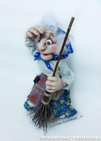 Бабушка Яга ручной работы на заказ