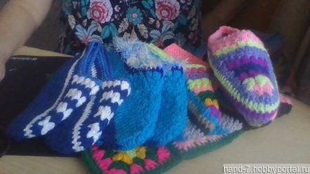 Тапочки домашние ручной работы на заказ