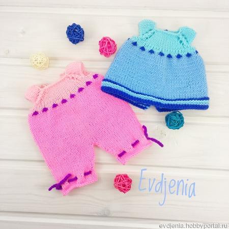 Описание вязания одежды на игрушку ручной работы на заказ